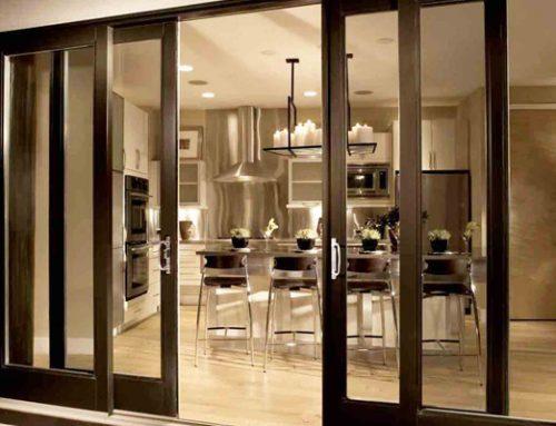 Pintu Sliding Aluminium dan Pintu Bifold Aluminium