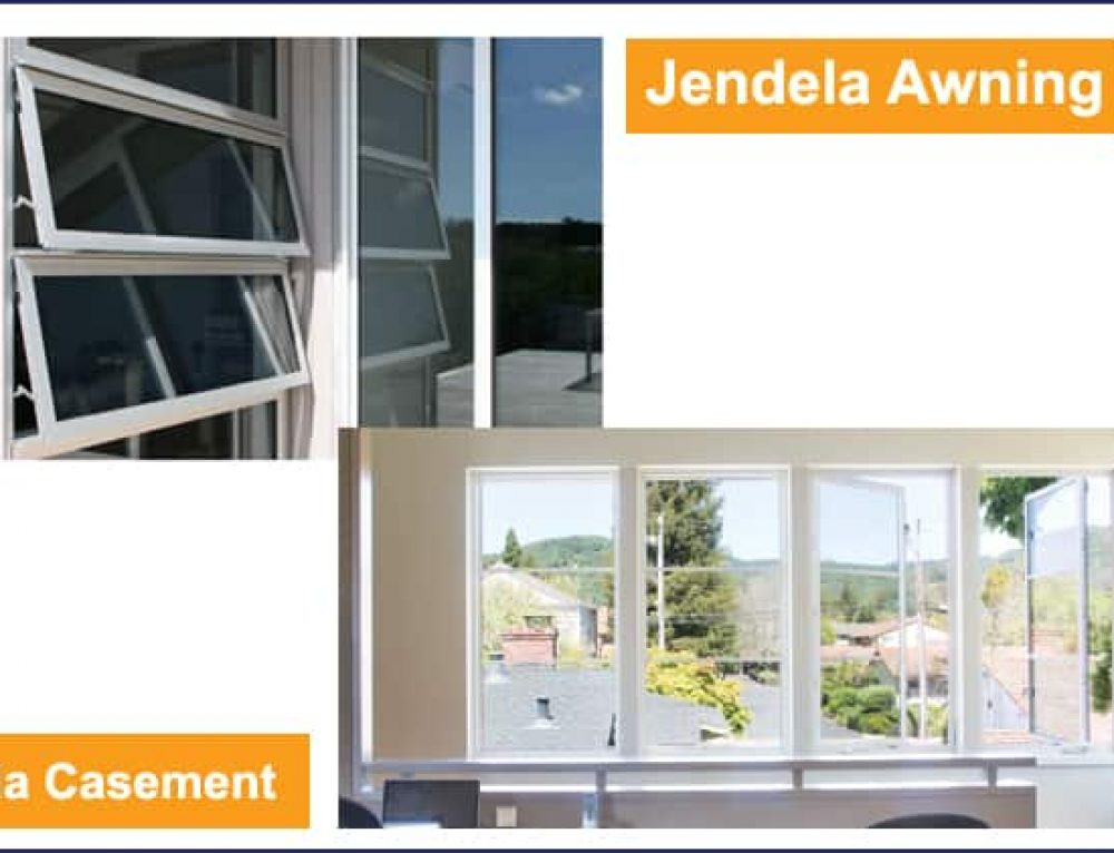 Perbedaan Jendela Casement dan Jendela Awning