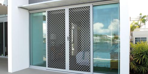 Kawat Nyamuk Pintu Aluminium